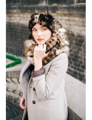 faux fur snood Fanny