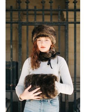 Elisa Muff faux fur