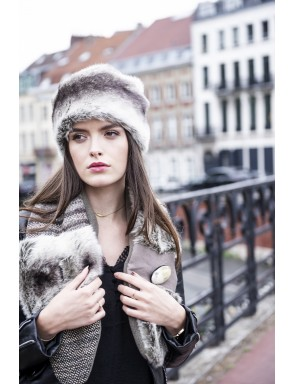 Faux fur Mélina Hat