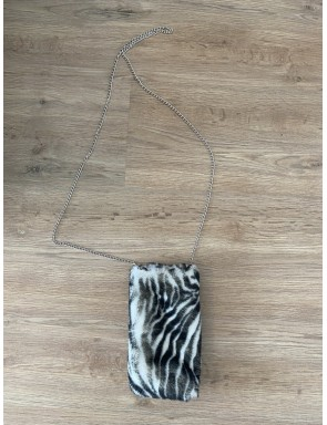Pochette de téléphone zebra