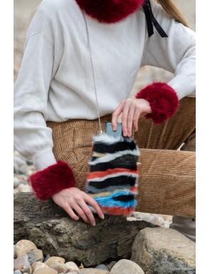 faux fur Pauline cuff
