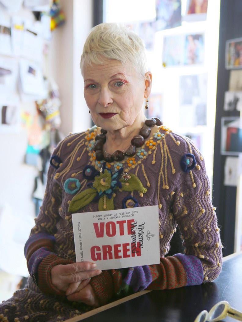 Vivienne westwood designer engagée militante mode écologique cruelty free fausse fourrure éthique